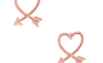 Go to Product: Pink Arrow Heart Stud Earrings