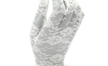 Go to Product: Claire's Club Flower Girl Lace Gloves
