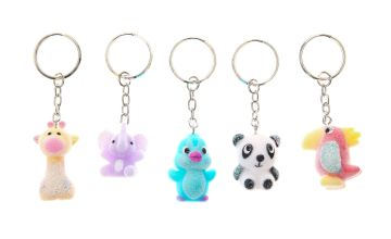 Go to Product: Best Friends Jungle Animal Keychains - 5 Pack
