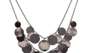Go to Product: Shaky Disc Multi Strand Necklace - Black