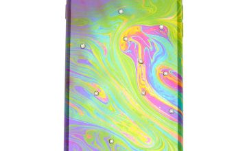 Go to Product: Oil Slick Stone Studded Phone Case - Fits iPhone 6/7/8