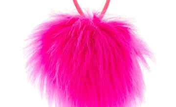 Go to Product: Pink Pom Hair Elastic