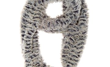Go to Product: Chinchilla Infinity Scarf - Grey