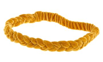 Go to Product: Suede Braided Headwrap - Mustard