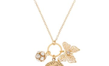 Go to Product: Gold Charm Locket Pendant Necklace