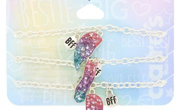 Go to Product: Cosmic Glitter Heart Friendship Bracelets - 3 Pack