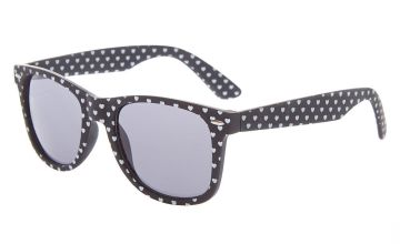Go to Product: Heart Retro Sunglasses - Black