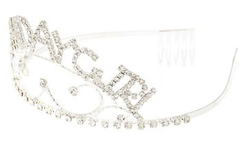Go to Product: Birthday Girl Filigree Tiara - Silver