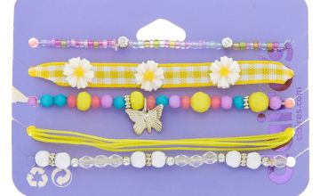 Go to Product: Spring Dreams Bracelets - Yellow, 5 Pack