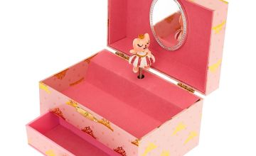 Go to Product: Claire's Club Ballerina Jewellery Box - Pink
