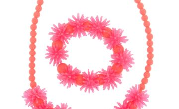 Go to Product: Claire's Club Squish Beaded Jewellery Set - Pink, 2 Pack