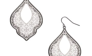 "Go to Product: Silver 2"" Filigree Drop Earrings"