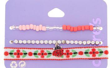Go to Product: Spring Ladybug Bracelets - Red, 3 Pack