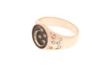 Go to Product: Rose Gold Night Sky Ring