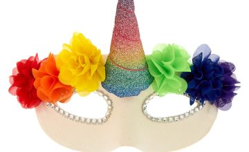 Go to Product: Floral Rainbow Unicorn Mask