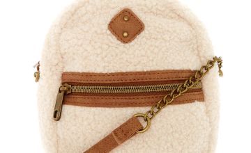 Go to Product: Mini Sherpa Crossbody Backpack