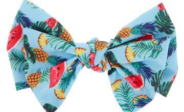 Go to Product: Tropical Fruit Hair Bow Clip - Blue