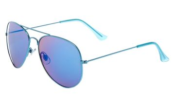 Go to Product: Mirrored Aviator Sunglasses - Blue