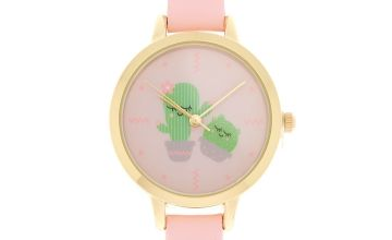 Go to Product: Cute Cactus Classic Watch - Pink