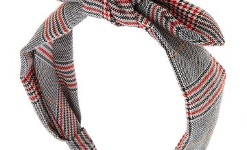 Go to Product: Menswear Plaid Knotted Bow Headband