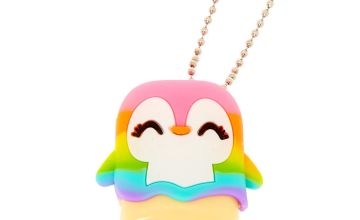 Go to Product: Pucker Pops Rainbow Penguin Lip Gloss - Cotton Candy