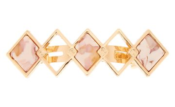 Go to Product: Marble Diamond Hair Barrette - Pink