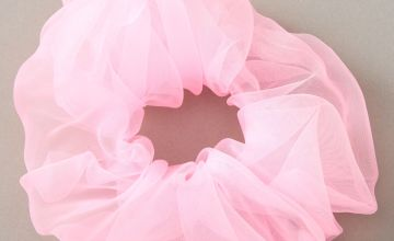 Go to Product: Giant Organza Hair Scrunchie - Pink
