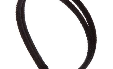 Go to Product: Double Row Ribbed Velvet Headband - Black