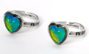 Go to Product: Best Friends Heart Mood Rings - 2 Pack