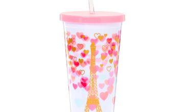 Go to Product: Paris Love Tumbler Cup - White