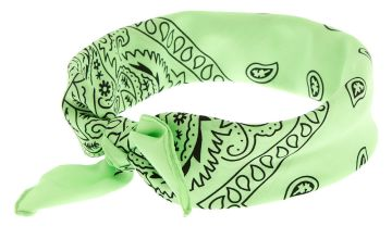 Go to Product: Bandana Bow Tie Headwrap  - Mint