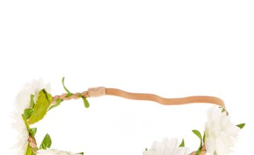 Go to Product: White Daisy Flower Headwrap