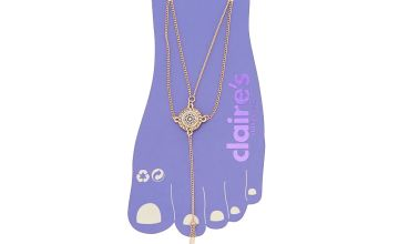Go to Product: Gold Filigree Foot Chain Anklet
