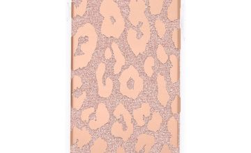 Go to Product: Rose Gold Glitter Leopard Print Phone Case - Fits iPhone 5/5S