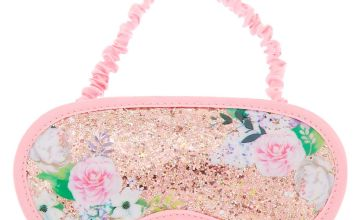 Go to Product: Glitter Floral Sleeping Mask - Pink