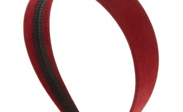Go to Product: Suede Headband - Burgundy