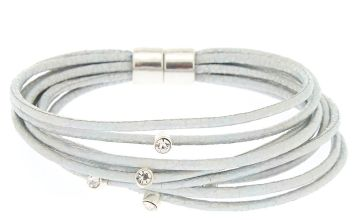 Go to Product: Holographic Cord Statement Bracelet - Silver