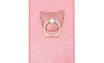 Go to Product: Pink Glitter Cat Ring Stand Phone Case - Fits iPhone 5/5S