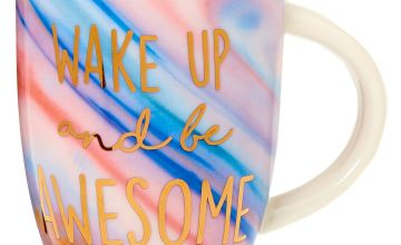 Go to Product: Wake Up And Be Awesome Marble Ceramic Mug