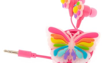 Go to Product: Rainbow Butterfly Earbuds & Winder