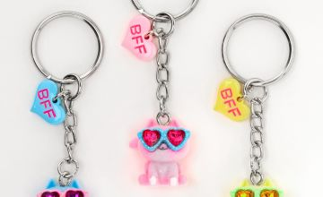 Go to Product: Cats Wearing Sunglasses Best Friends Keychains - 3 Pack
