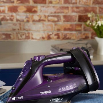 Tower Corded/Cordless Iron