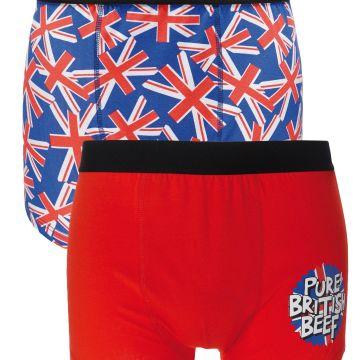 Pack of 2 British Boxers