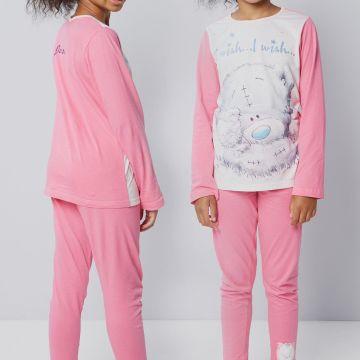 Girls Personalised Tatty Teddy Pyjamas