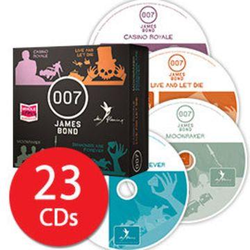 James Bond 007 Audio Collection - 23 CDs