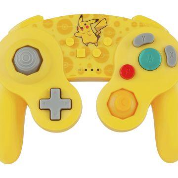 Nintendo Switch Wireless GameCube Style Controller - Pikachu