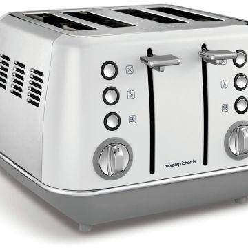Morphy Richards 240109 Evoke 4 Slice Toaster - White