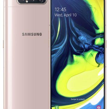 SIM Free Samsung A80 128GB Mobile Phone – Gold