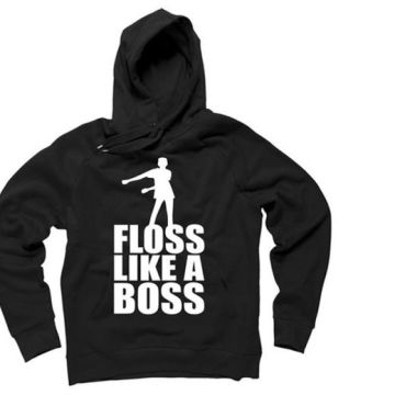 'floss like a boss' hoodie - choose from four colours from Electronic Store Limited