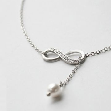 £3.99 for an infinity drop necklace from Solo Act Ltd